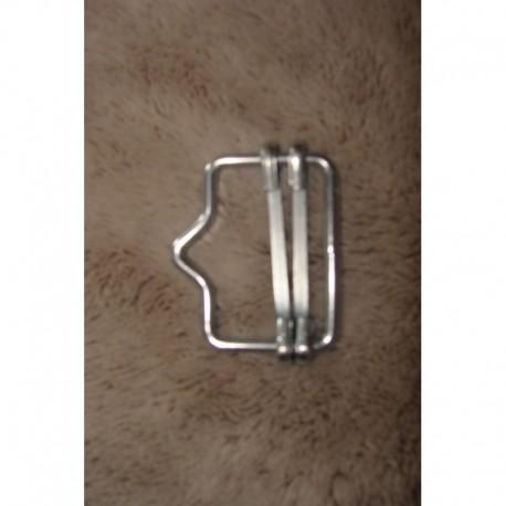 Raccord pour ruban 4cm (x5)