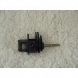 Isolateur pour cordelette avec vis (lot de 100)