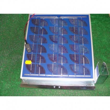 Panneau solaire 10 watt + support (D)