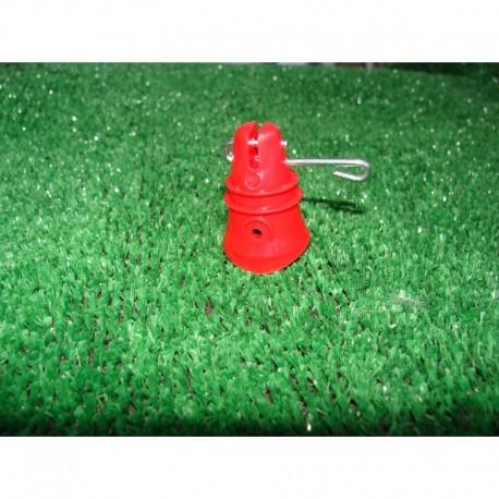 Isolateur rouge (lot de 100) (D)