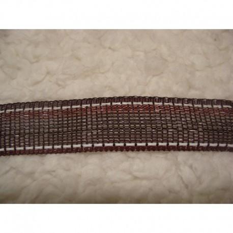 ruban 2 cm marron 500m (nouveau)