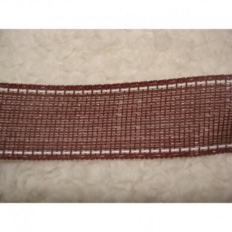 ruban 4cm marron 200m (nouveau)