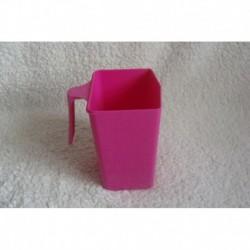 Mesure plastique rose