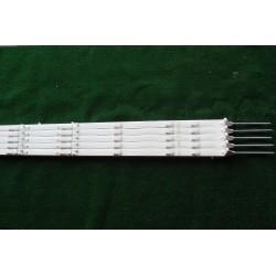 piquet plastique 140 cm (lot de 10)