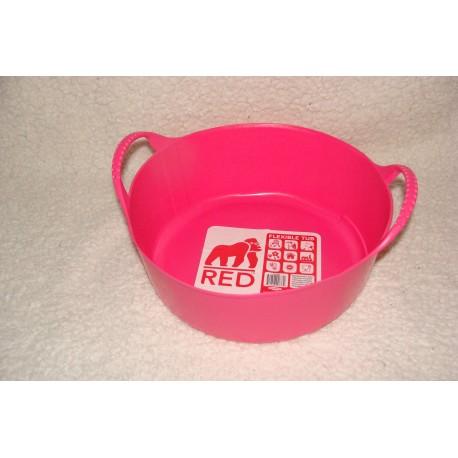 Cabas 5 litres rouge