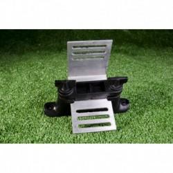 Isolateur renfort d'angle ruban avec plaque alu