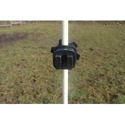 Isolateur pour fil et cordelette avec écrou  (lot de 100)