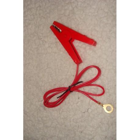 Jonction poste et fil rouge (pince)