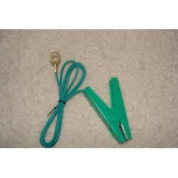 Jonction poste et fil vert (pince)
