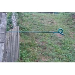 Ecarteur vert pour ruban et fil