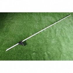 Piquet fibre de verre hauteur 115cm ruban(lot de 10)